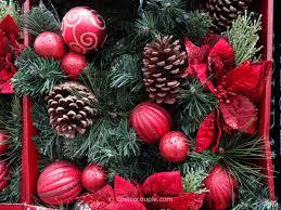 lighted christmas tree garland kirkland signature pre lit decorated holiday garland