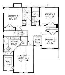 free floorplans 4 bedroom house floor plans free home deco plans
