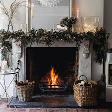 best 25 christmas fireplace garland ideas on pinterest