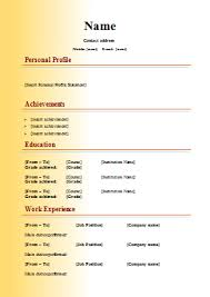 how to write a cv in english example buscar con google u2026 pinterest