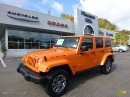 orange jeep 2013 crush orange jeep wrangler unlimited rubicon 4x4 72159757