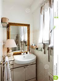small loft furnished bathroom stock photos image 23964443
