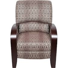 Recliner Accent Chair Aaron Red Reclining Accent Chair The Brick