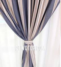 White And Navy Striped Curtains Navy Blue Nursery With Beige And Sailboard Print Curtains Unique