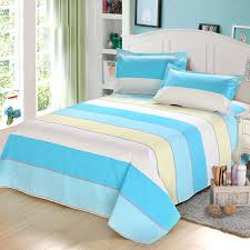 best quality sheets best quality ocean blue flat sheets bed sheet 100 cotton 1pcs