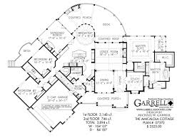 Rustic Cabin Plans Floor Plans Amicalola Cottage House Plan House Plans By Garrell Associates Inc