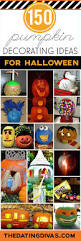 best 25 no carve pumpkin decorating ideas only on pinterest