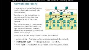 1 1 hierarchical network design overview ccna 4 chapter 1