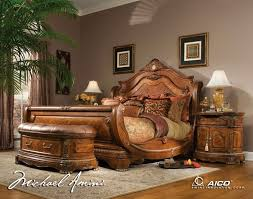 Queen Size Bedroom Sets King Size Bedroom Sets Aico Palais Royale - King size bedroom sets art van