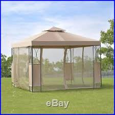 Gazebo With Awning Patio Awnings Canopies And Tents Gazebo