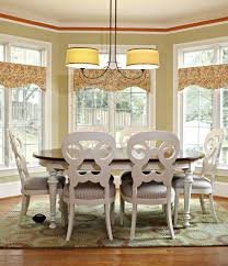 valances for traditional dining room and window treatments window