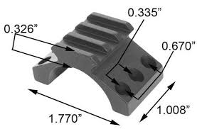 top scope rings images Super sale mfi 30mm heavy duty picatinny weaver rails for jpg