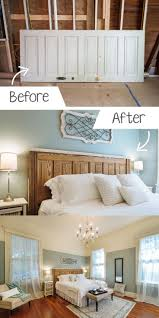 65 best makeover images on pinterest bedroom makeovers budget diy ideas for the home turning an old door into a headboard diy