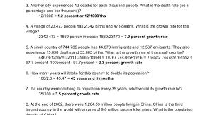 population calculations google docs
