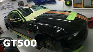 A Black Mustang Ceramic Pro Detailing A Black 2014 Shelby Gt500 Youtube