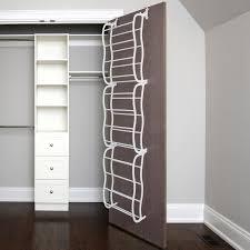 oxgord the door shoe rack for 36 pairs wall hanging closet