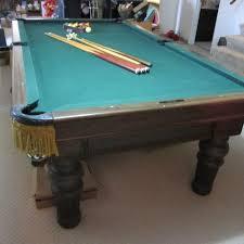 brunswick slate pool table brunswick revere pool table stacy moving auction k bid