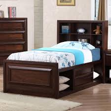 Captain Beds Twin by Tall Twin Wood Captain Bed With Storage Underneath Plus Bookcase