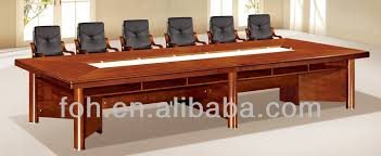 Wooden Boardroom Table 12 14 Person Meeting Wood Veneer Conference Table Fohc 20536