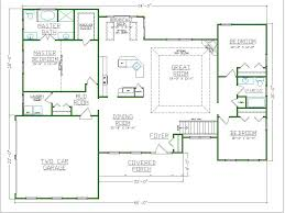 another luxurious master bathroom floor plan with a separate room
