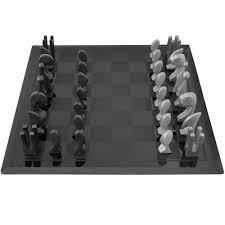 pierre cardin 1969 evolution chess set with glass board tftmmelrose