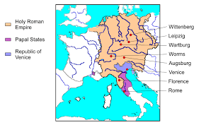 Holy Roman Empire Map Here I Stand Creature And Creator