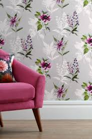 Master Bedroom Ideas With Wallpaper Accent Wall Buy Vibrant Floral Paste The Wall Wallpaper From The Next Uk