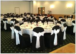 black banquet chair covers black chair cover black sashes for chair covers black wedding