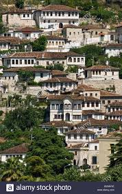 Ottoman Period The Mangalemi District Of Berat With Its Ottoman Period Houses In