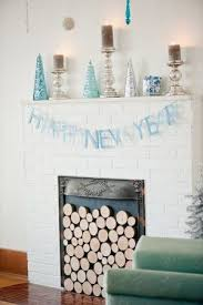 New Year Decorations Pinterest by 29 Best New Year U0027s Eve Fireplace Decoration Images On Pinterest