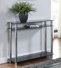 Clear Console Table Gorgeous Adelaide Console Table Pretty Metal Glass Console Table