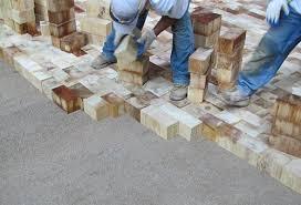 history of wood block flooring