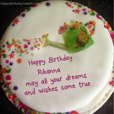 birthday cake rihanna