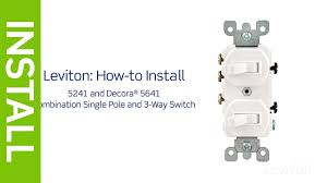 leviton presents how to install a combination device with stunning