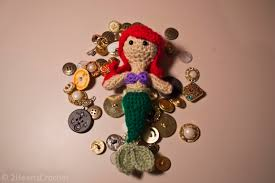 ariel mermaid version u2013 two hearts crochet