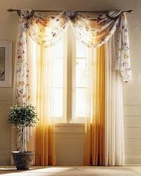 Yellow Curtains For Living Room How To Plan Your Curtain Ideas For Living Room Homescorner Com