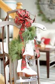 Decoration For Christmas Decorating A Vintage Sled For Christmas Decorating Vintage And