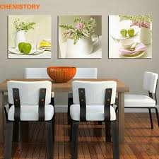 painting for kitchen unframed 3pcs fruit and floral wall art picture canvas print