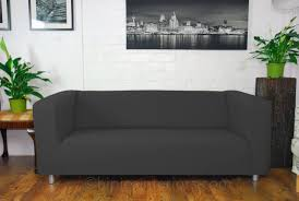 Gray Sofa Slipcover by Furniture Make Your Klippan Sofa Cover Uniquely Yours