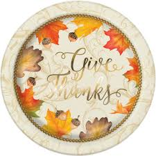 foil gold fall leaves thanksgiving paper plates thanksgiving