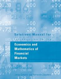 solutions manual for introduction to the economics and mathematics
