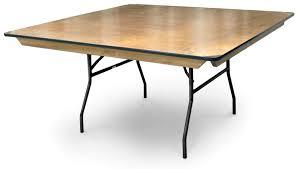 Table With Folding Legs 36 U0027 U0027 Square Plywood Folding Table With Locking Wishbone Style Legs