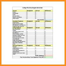 9 sample household budget spreadsheet free printable budget forms