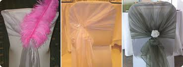 chair tie backs organza wedding chair sashes solihull birmingham and west midlands