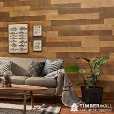 timberwall barnwood peel and stick wood walls