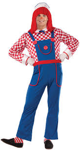Raggedy Ann Andy Halloween Costumes Adults Raggedy Andy Funny Costume Costume Craze