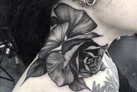 imagenes tatuajes cuello tatuajes en el cuello cosas a tener en cuenta