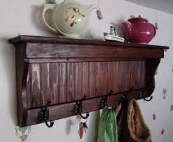 wooden wall mounted coat rack foter