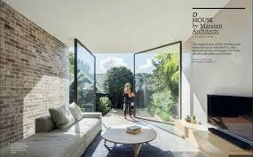 houses magazine d house featured in houses magazine vitrocsa australia
