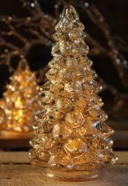 mercury glass trees images
